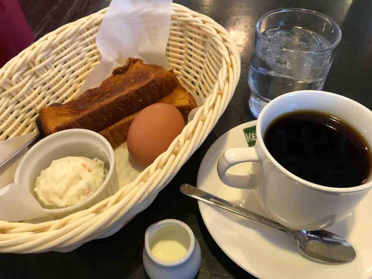 カフェ ケント(CAFE KENT)シナモンデニッシュモーニング
