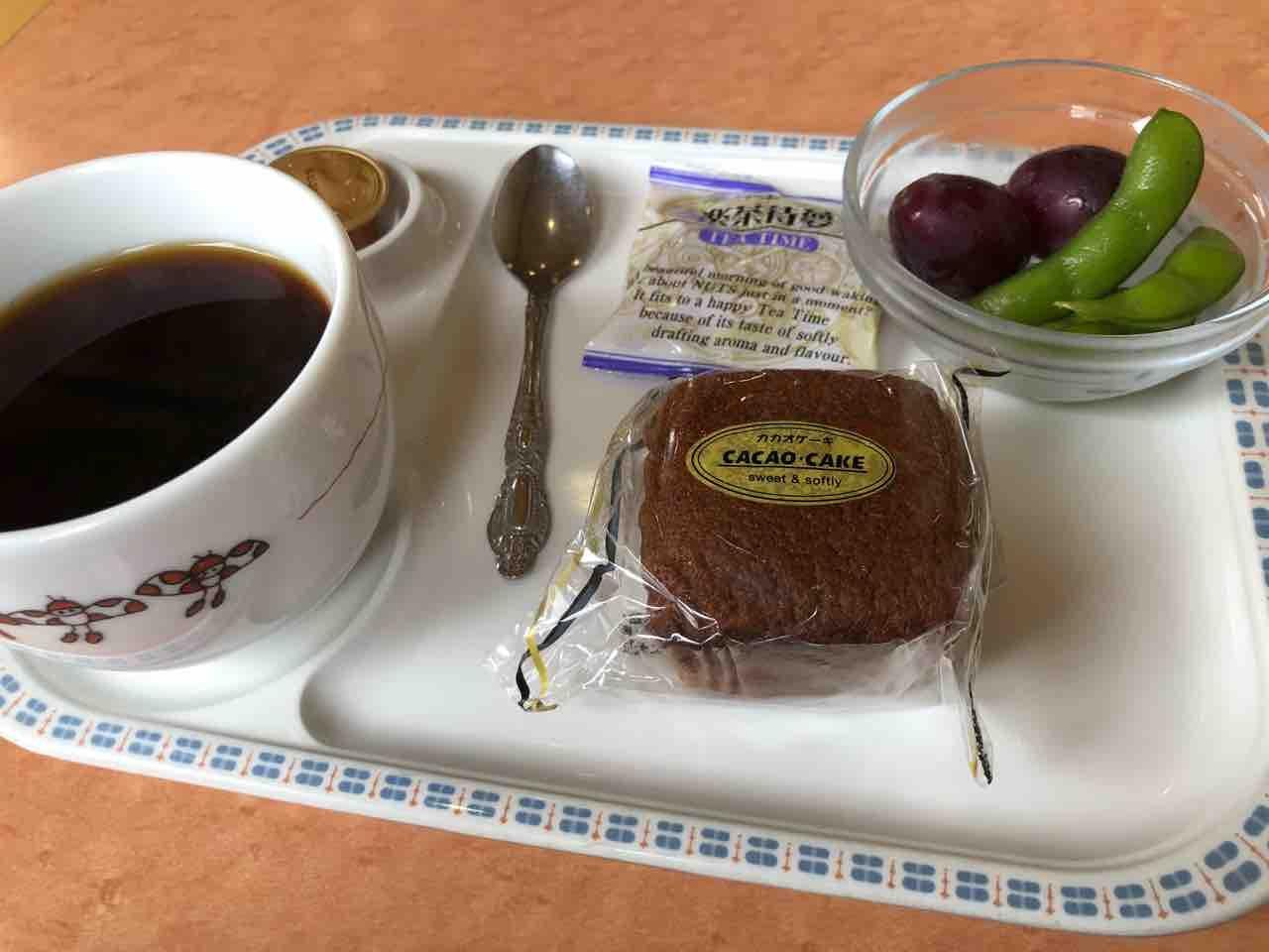 『カフェ レスト レディーバード』この日の日替わりランチ