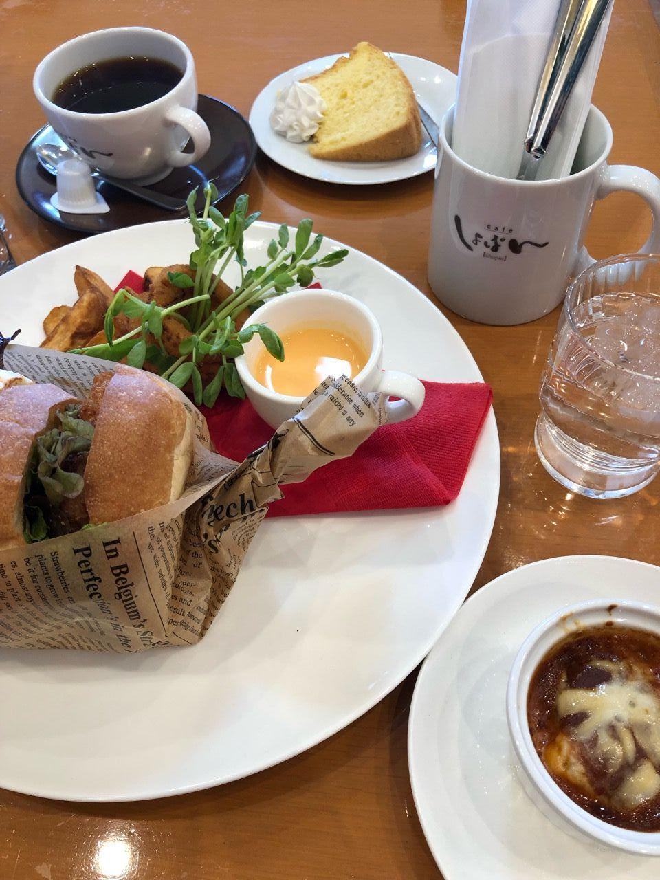 『cafe しょぱん【chopin】KONAN』サンドイッチランチ
