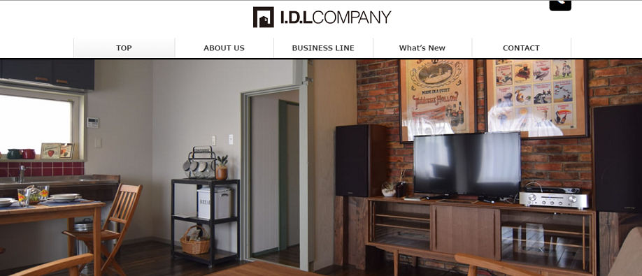 『I.D.L COMPANY(アイ.ディー.エル カンパニー)』ホームページ