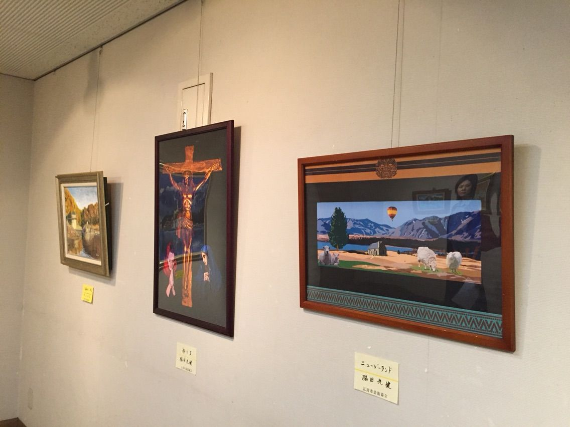 「ギャラリー みわ」平成29年度『江南市美術協会 春季 会員展』開催中