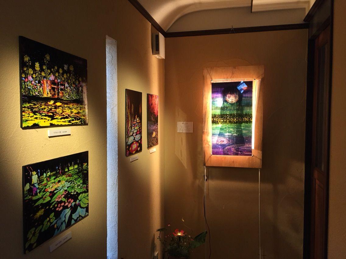 【珈琲&ギャラリー 予約席】酒井敦美さん「光の切り絵 十年展」