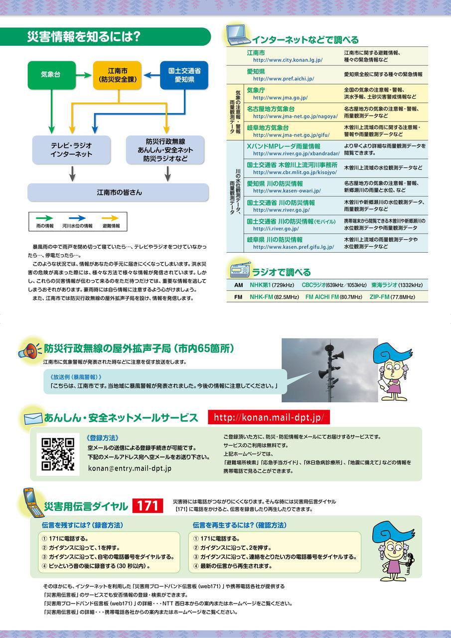 江南市ハザードマップ2