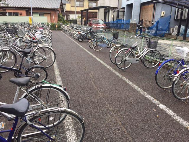 江南駅【北野】駐輪場