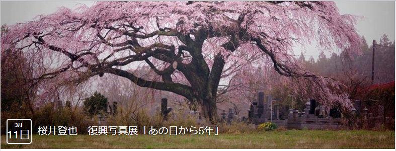 桜井登也さんの復興写真展