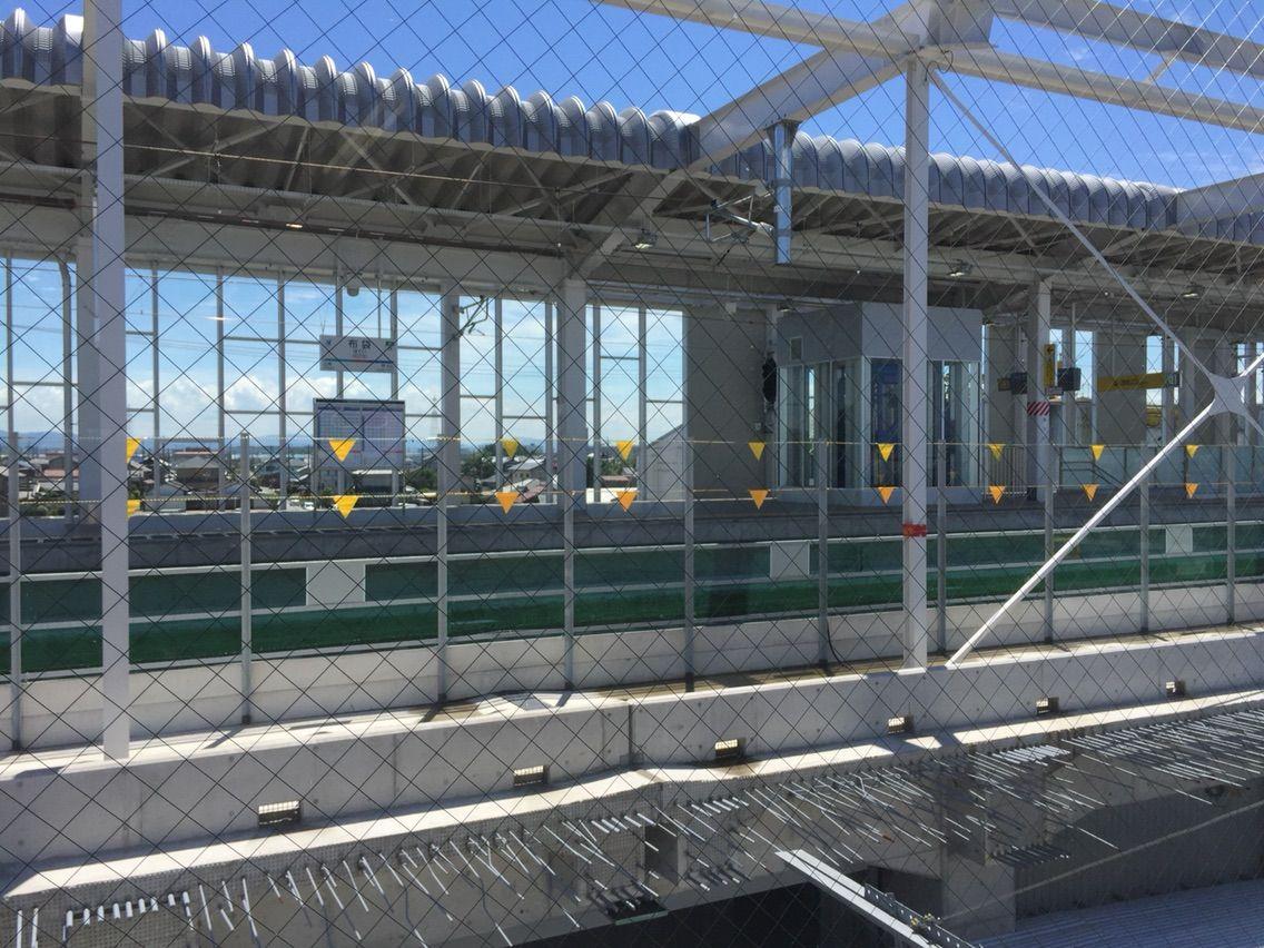 布袋駅高架切替・新ホーム