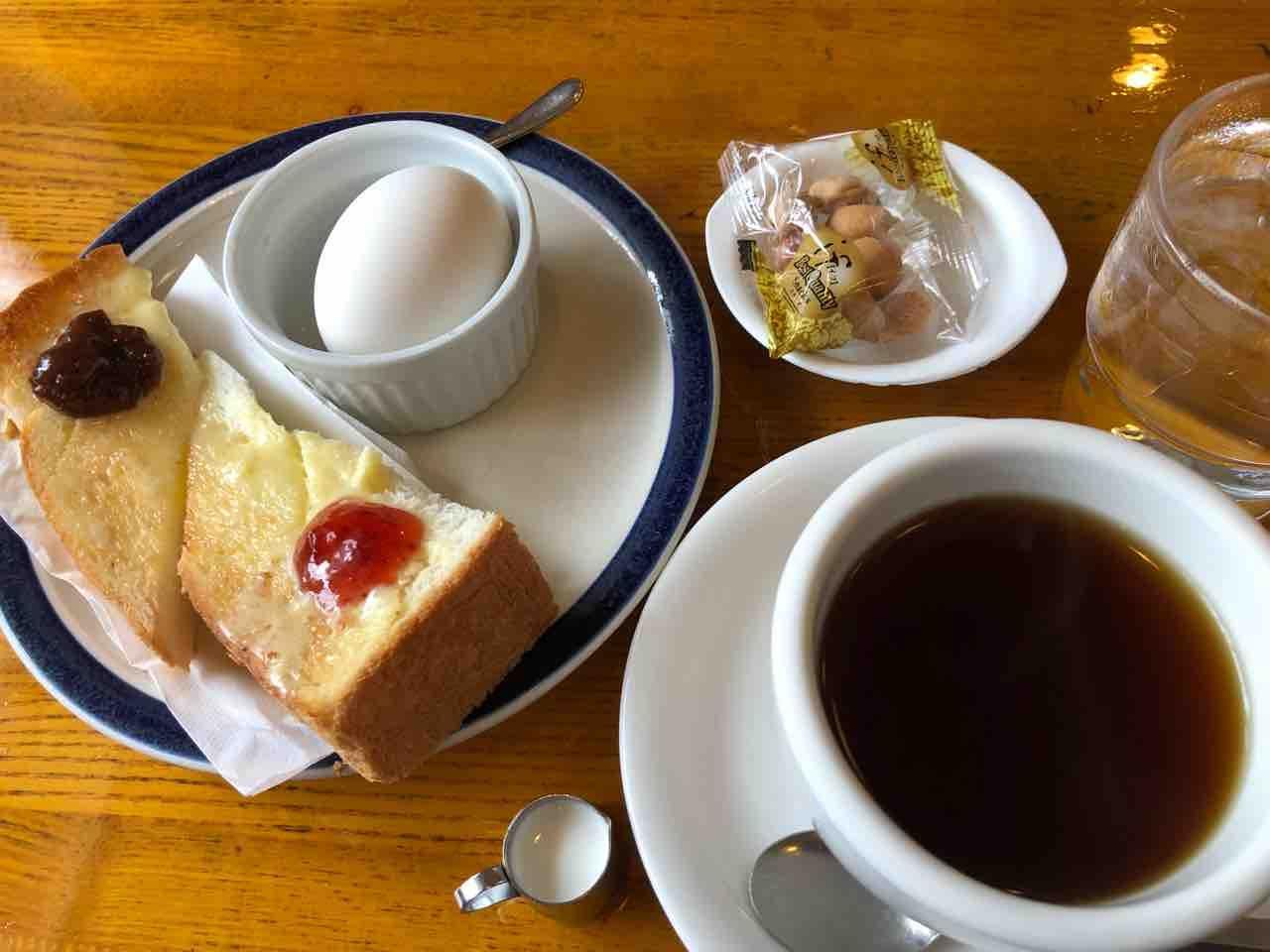 『Coffee Shop 杉』モーニング