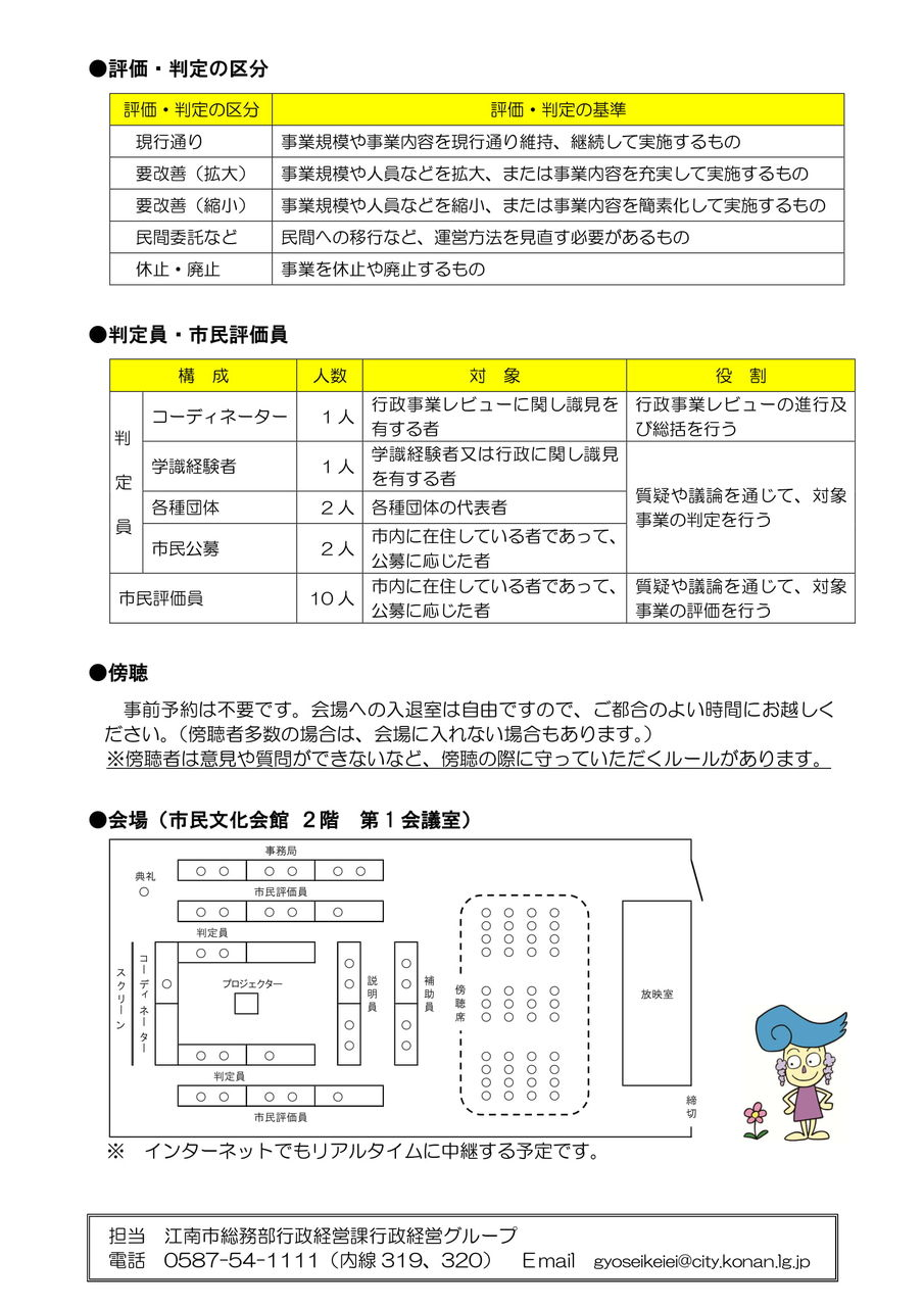 「江南市行政レビュー」