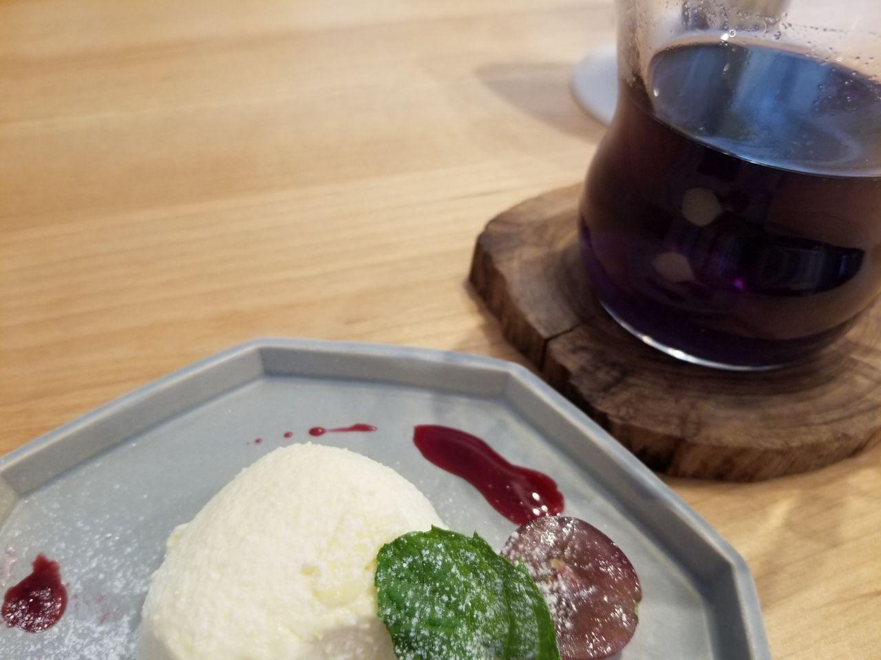 「メディカフェ ワークショップ」デザートとドリンク