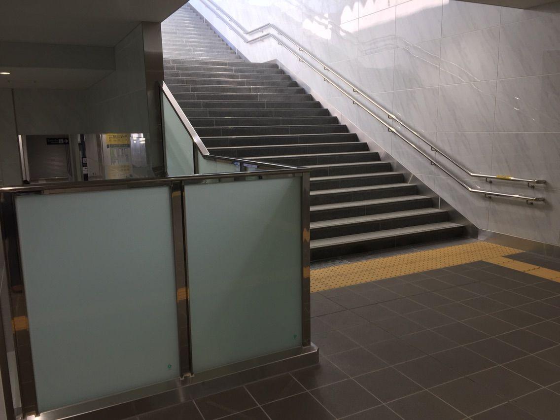 布袋駅高架新ホーム