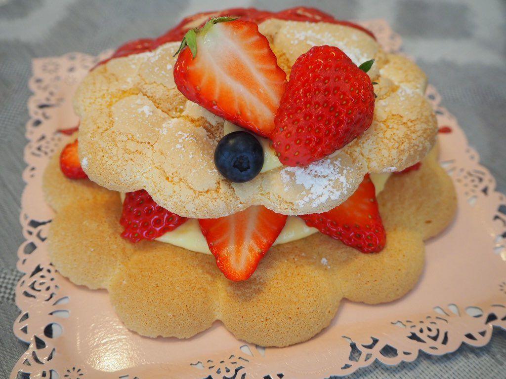 『おうちパティスリー pomme(ポム)』『おうちパティスリー pomme(ポム)』ケーキづくり教室 完成